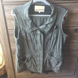 Nordstrom BP green army vest L